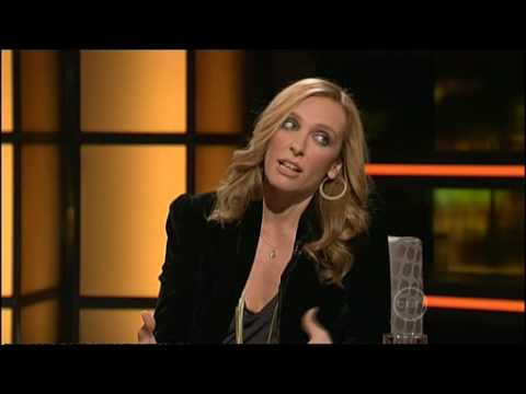 Toni Collette interview on ROVE (2009)