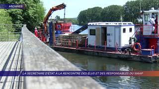 Yvelines | La secrétaire d'État à la rencontre des élus et des responsables du SIAAP