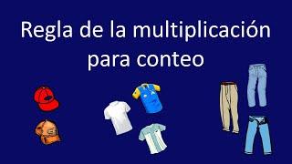 Conteo: regla de la multiplicación