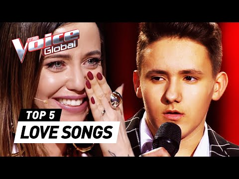 VALENTINE&39;S DAY special: BEST LOVE SONGS in The Blind Auditions of The Voice Kids