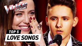 VALENTINE'S DAY special: BEST LOVE SONGS in The Blind Auditions of The Voice Kids