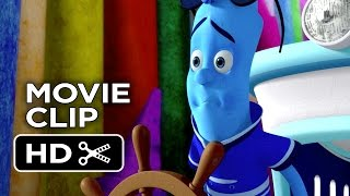 The Hero of Color City Movie CLIP - Shipwrecked (2014) - Sean Astin Animated Movie HD