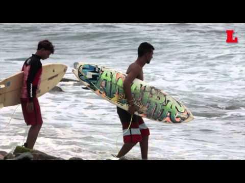 Surf del bueno en Los Caracas, Estado Vargas. Playa La Punta