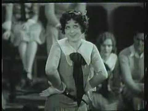 Dancing and singing to a Duo of songs from 1929