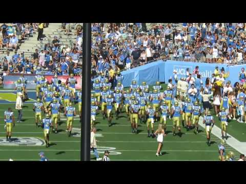 UCLA Football vs Utah Utes Entrance - 2016