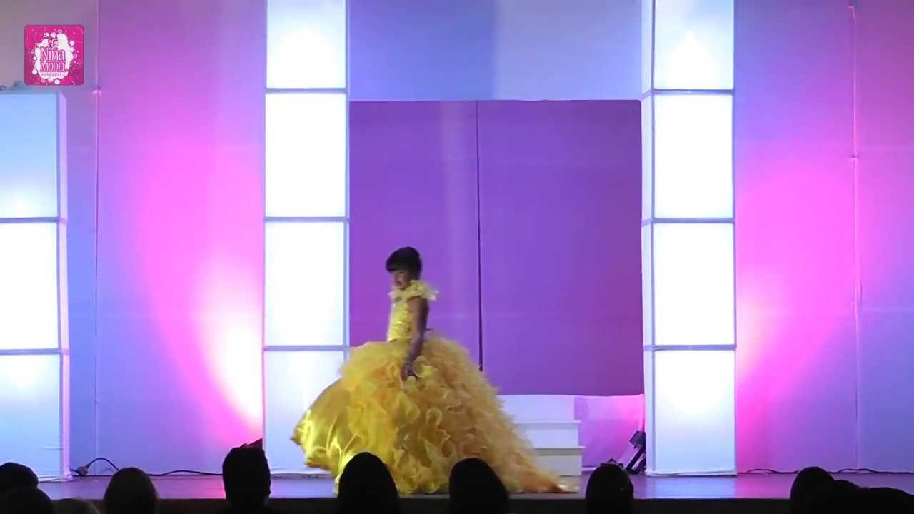 Desfile de Gala   Niña Model Vzla 2013   Categoría Baby - YouTube