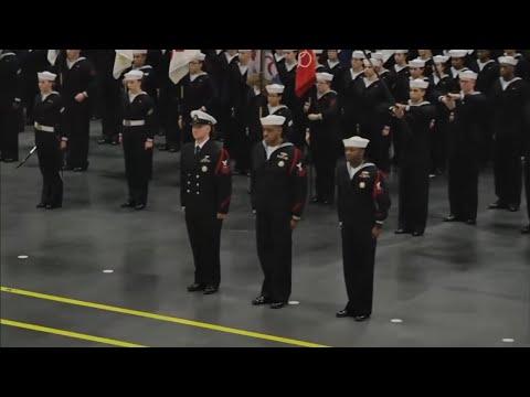 U.S. Navy Recruit Training Command Graduation on 11.22.17