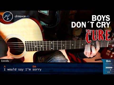 Como tocar Boys Don't Cry en Guitarra Acustica | Tutorial COMPLETO Christianvib