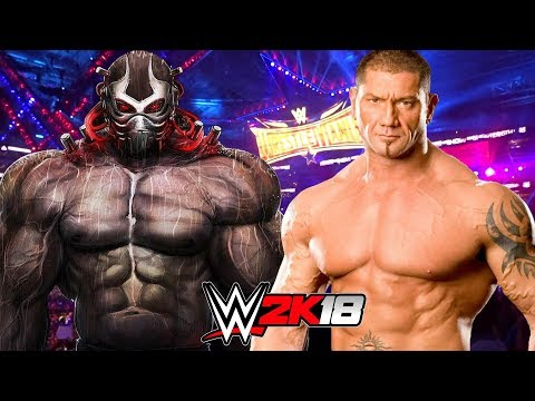 BATISTA vs BANE   WWE 2K18 Gameplay Mp3