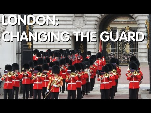 London: Changing The Guard at Buckingham Palace