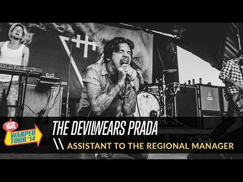 The Devil Wears Prada - Assistant to the Regional Manager (Live 2014 Vans Warped Tour)