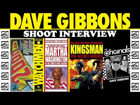 Dave Gibbons Visits Cartoonist Kayfabe! The Shoot Interview!