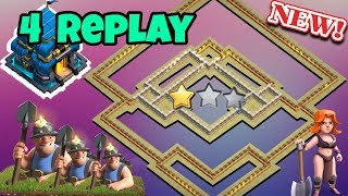 New Best Th 12 Anti 1 Star Or 2 Star War Base Replays Anti