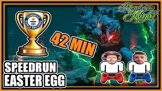 WORLD RECORD EASTER EGG SPEEDRUN 2P DEAD OF THE NIGHT ZOMBIES BLACK OPS 4