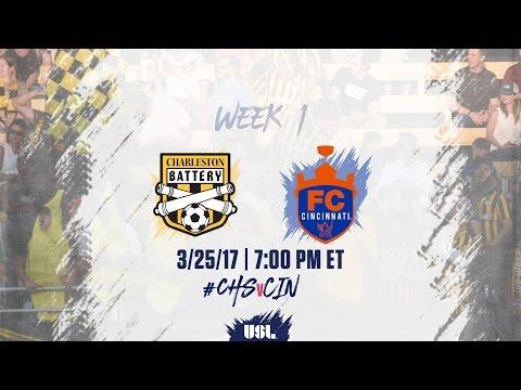 USL LIVE - Charleston Battery vs FC Cincinnati 3/25/17