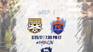 Charleston Battery vs FC Cincinnati full match