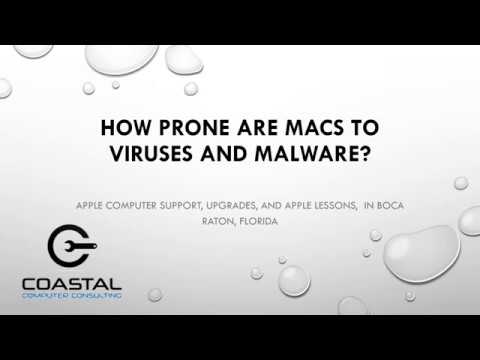 How Prone are Macs to Viruses and Malware? | Coastal Computers | Boca Raton, FL