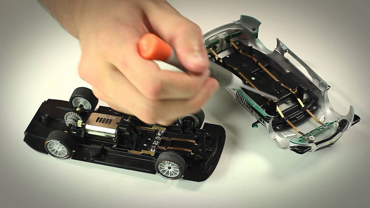 herramientas para coches scalextric