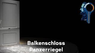 Balkenschloss / Panzerriegel