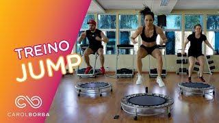 Aula completa de JUMP para queimar calorias! - Carol Borba