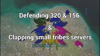 FARMING KITS ON SMALLTRIBES SERVERS + DEFENDING 320 + 156