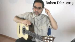 Mastering 4/4 Strumming 3/ Ruben Diaz Andalusian Flamenco Guitar Lessons & Paco de Lucia