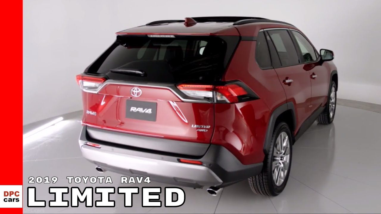 2019 Toyota Rav4 Limited Youtube