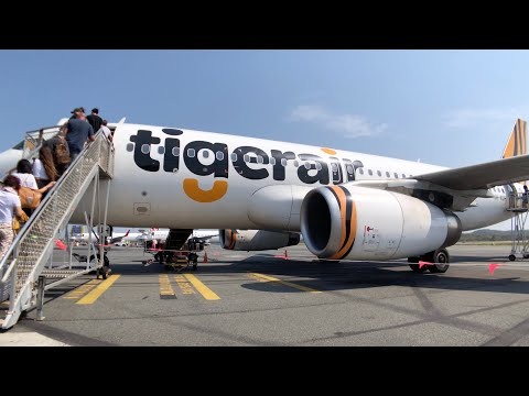 TIGERAIR A320 ECONOMY Class: TT565 Gold Coast To Melbourne
