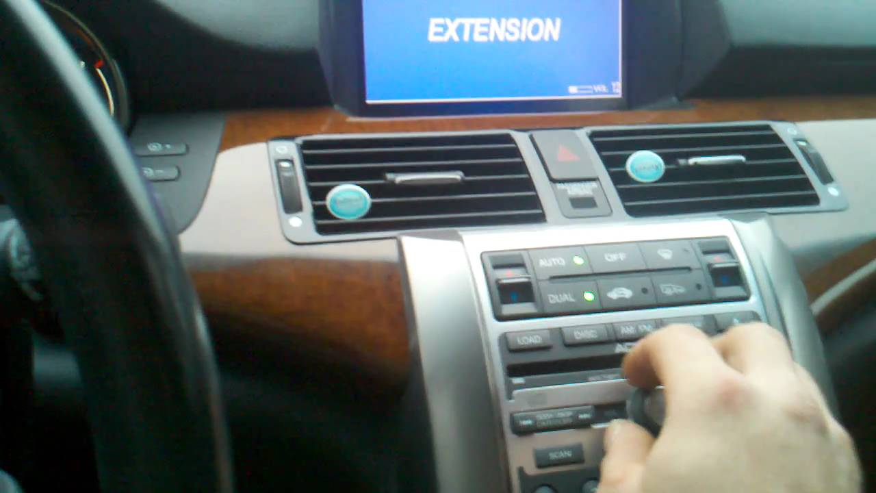 install aftermarket subwoofer and amp in acura rl 2005 2009 factory bose youtube [ 1280 x 720 Pixel ]