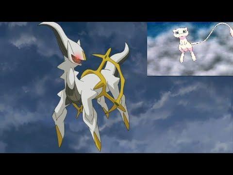 Pokemon Theory: Is Arceus The Ancestor Of Mew?