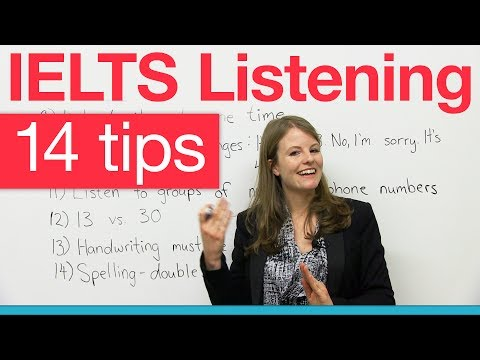 IELTS Listening - Top 14 tips!