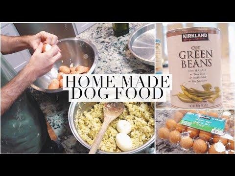 How To Make Home Made Dog Food!
