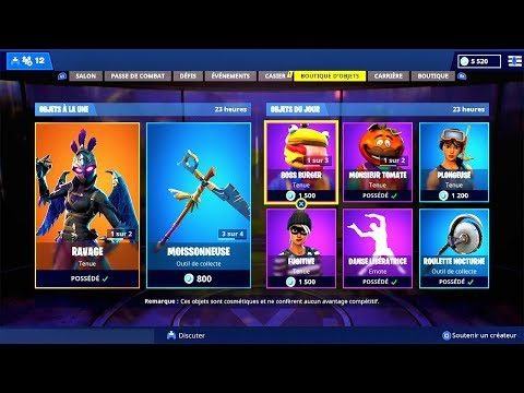 BOUTIQUE FORTNITE du 15 Novembre 2018 ! - ITEM SHOP November 15 2018