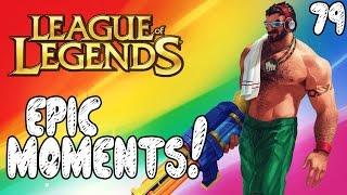 League of Legends Epic Moments - No Escape, Kiting, Explosion