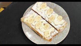 Пирожное «Мильфёй сбананами»  Зощенко. Сладкие рассказы