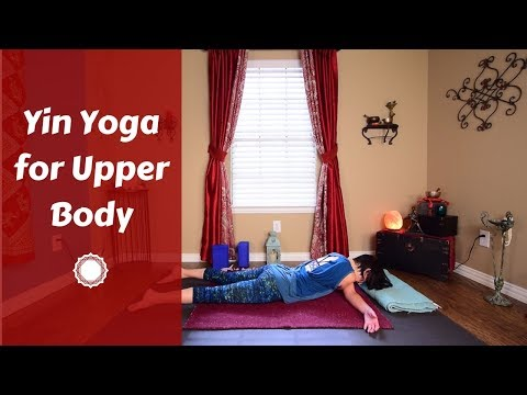 Yin Yoga for Deep Upper Body Stretch | Yin Yoga for Golfers, Swimmers & Athletes {40 mins}