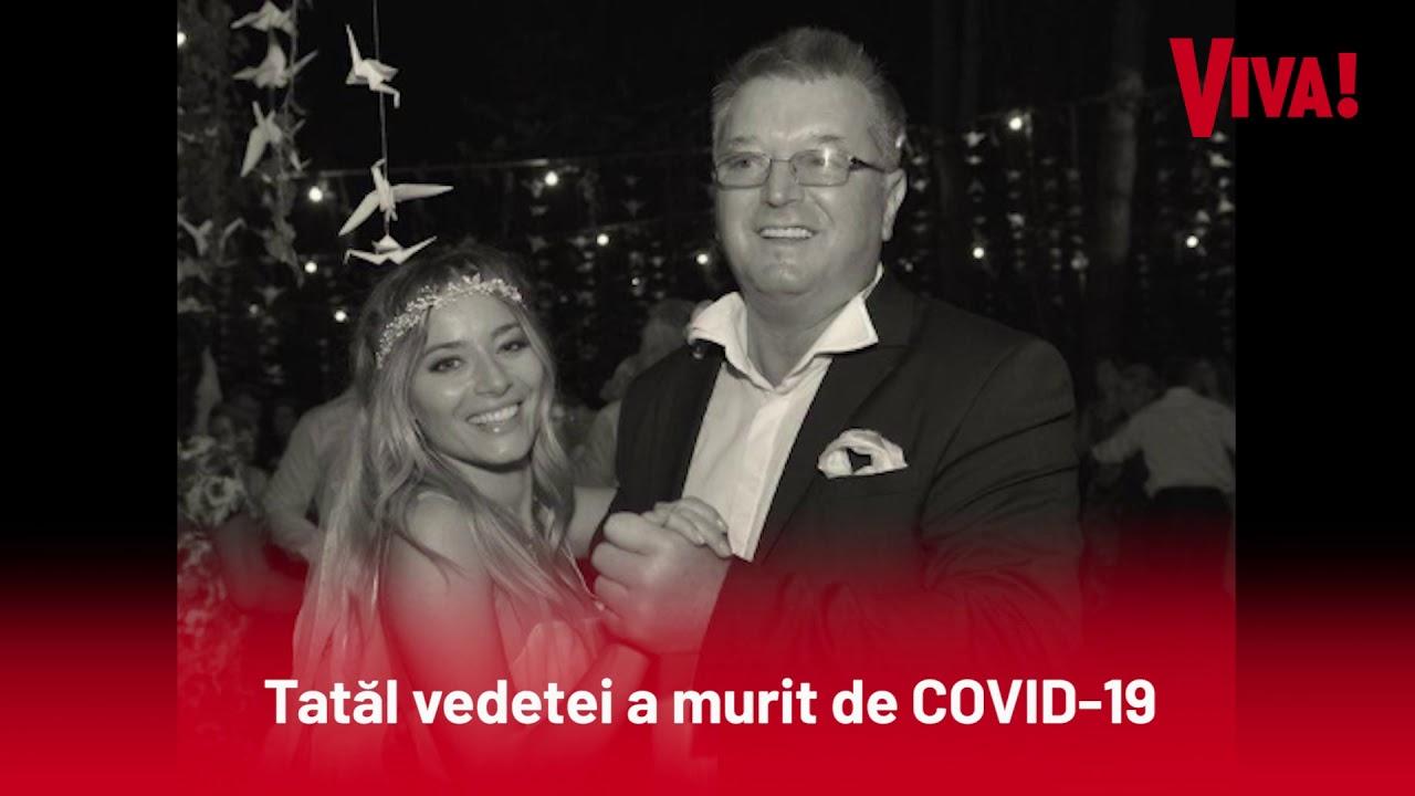 Laura Cosoi e în doliu. Tatăl vedetei a murit de COVID-19