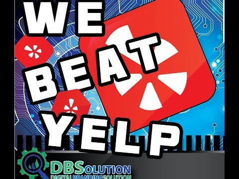 Getting to the top of Yelp, Local Directory SEO results From The Digital Branding Solution