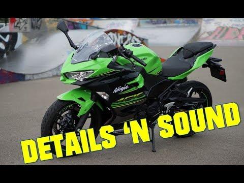 2018 Kawasaki Ninja 400 Details Exhaust Sound Youtube