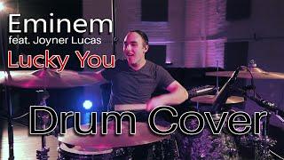 Eminem Feat. Joyner Lucas - Lucky You | Nate Falardeau Drum Cover