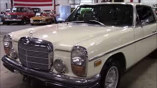 1971 Mercedes Benz 250c Light Ivory