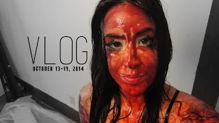 VLOG: Blood Bath, Texas State Fair, & Munchies Thumbnail