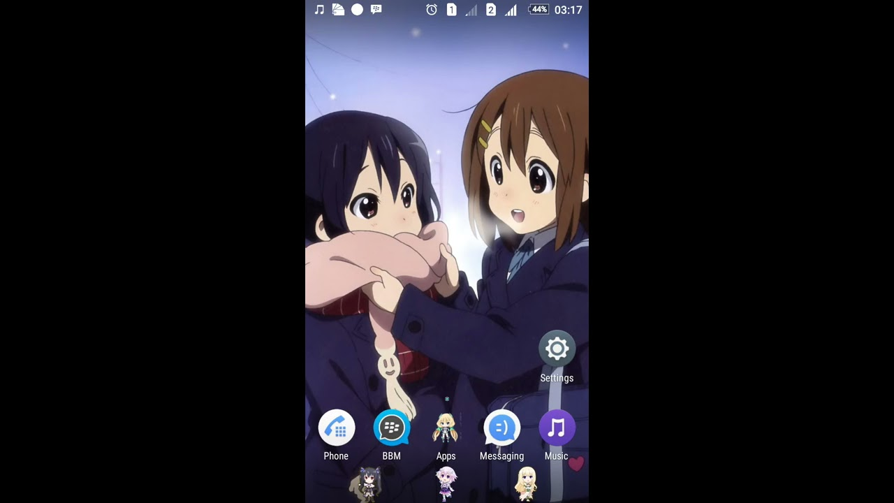 anime themes for xperia youtube