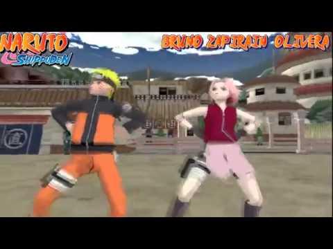 Naruto Shippuden Gamnam style