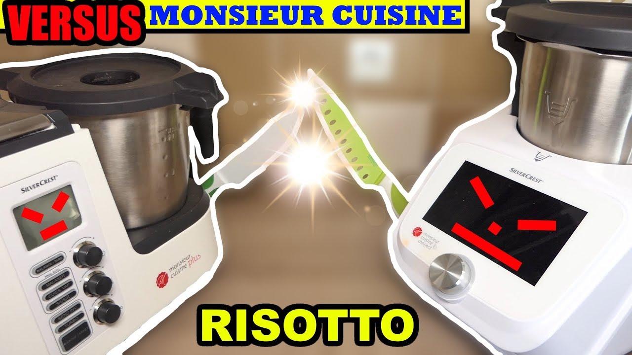 monsieur cuisine connect versus monsieur cuisine plus risotto recette