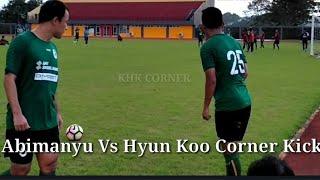 Challenge Corner Kick Abimanyu Vs Hyun Koo