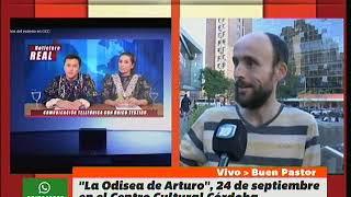 ODISEA DEL ARTURO, el domingo 24 en el Centro Cultural Córdoba