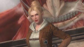 Dead or Alive 5 Last Round - Attack on Titan DLC Preview