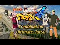 Naruto Shippuden Ultimate Ninja Storm 4 - All Combination Ultimate Jutsu (PS4 Gameplay, 1080p)