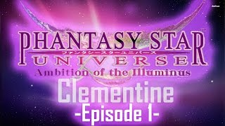 Phantasy Star Universe: Clementine Closed Server Gameplay **READ DESCRIPTION**